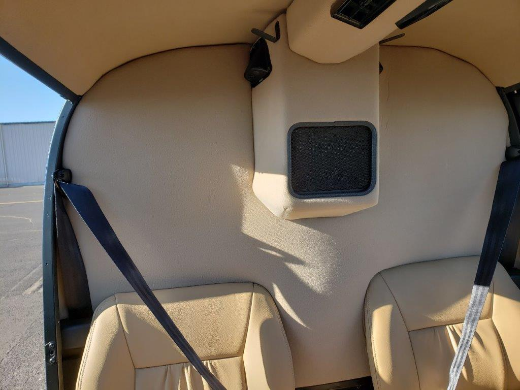 N484SH interior back panel