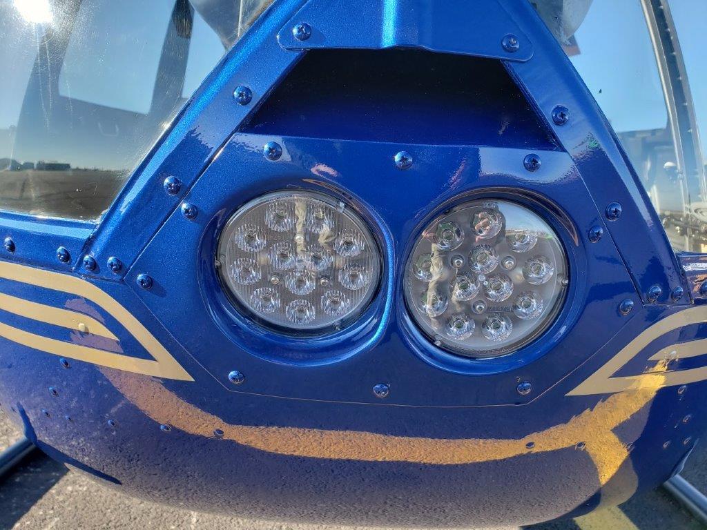 N484SH Landing Lights